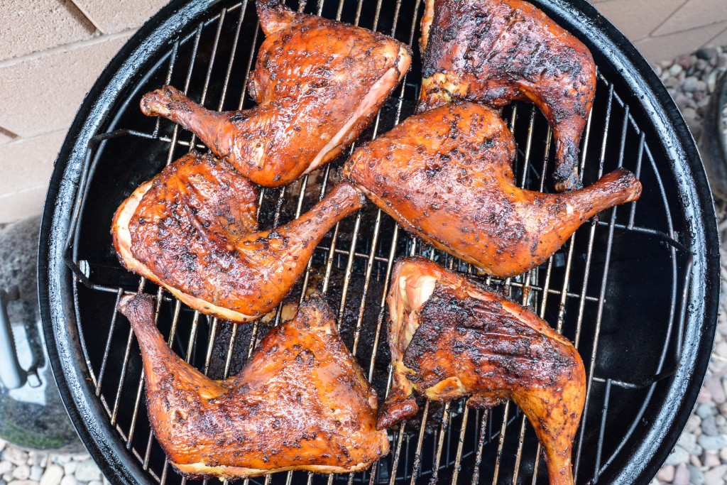 Honey Garlic Smoked Chicken