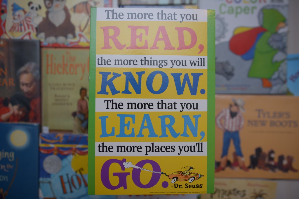 Dr. Seuss Quote from Oh the Places You Will Go""