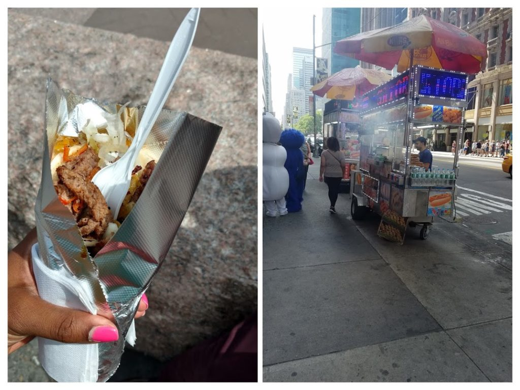 New York food Carts
